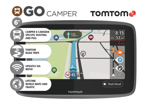 gps tomtom go camper world gps ee. Black Bedroom Furniture Sets. Home Design Ideas