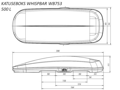 katuseboks-whispbar-wb753