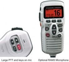 Standard horizon GX1700E VHF GPS. käsi vhf