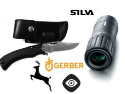 jahinuga Gerber Gator Premium + monokkel Silva Pocket Scope