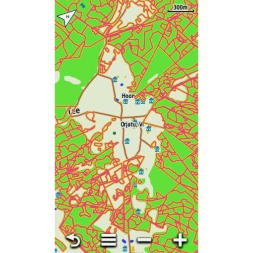 metsaeraldiste kaart 2016 uus