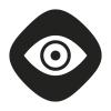 pimedas nähtav ikoon