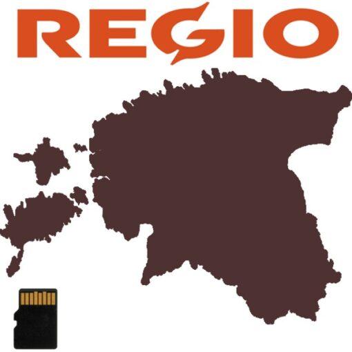 regio eesti teege kaart