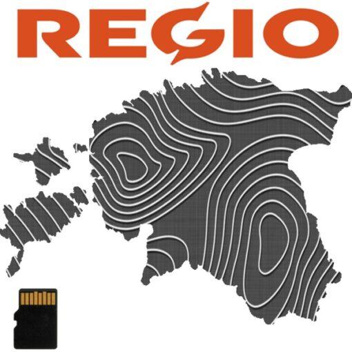 regio eesti topo kaart