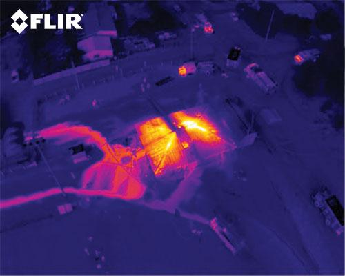 termokaamera näeb läbi tiheda suitsu ja udu