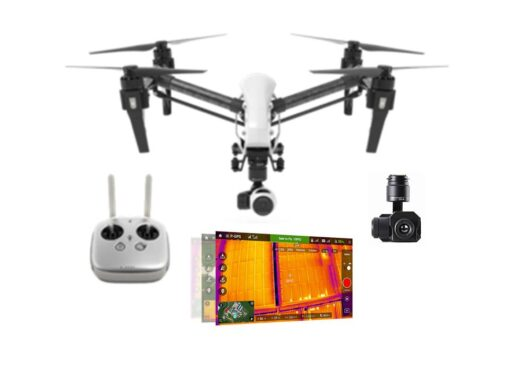 termokaameraga droon DJI Inspire 1 ühe juhtpuldiga